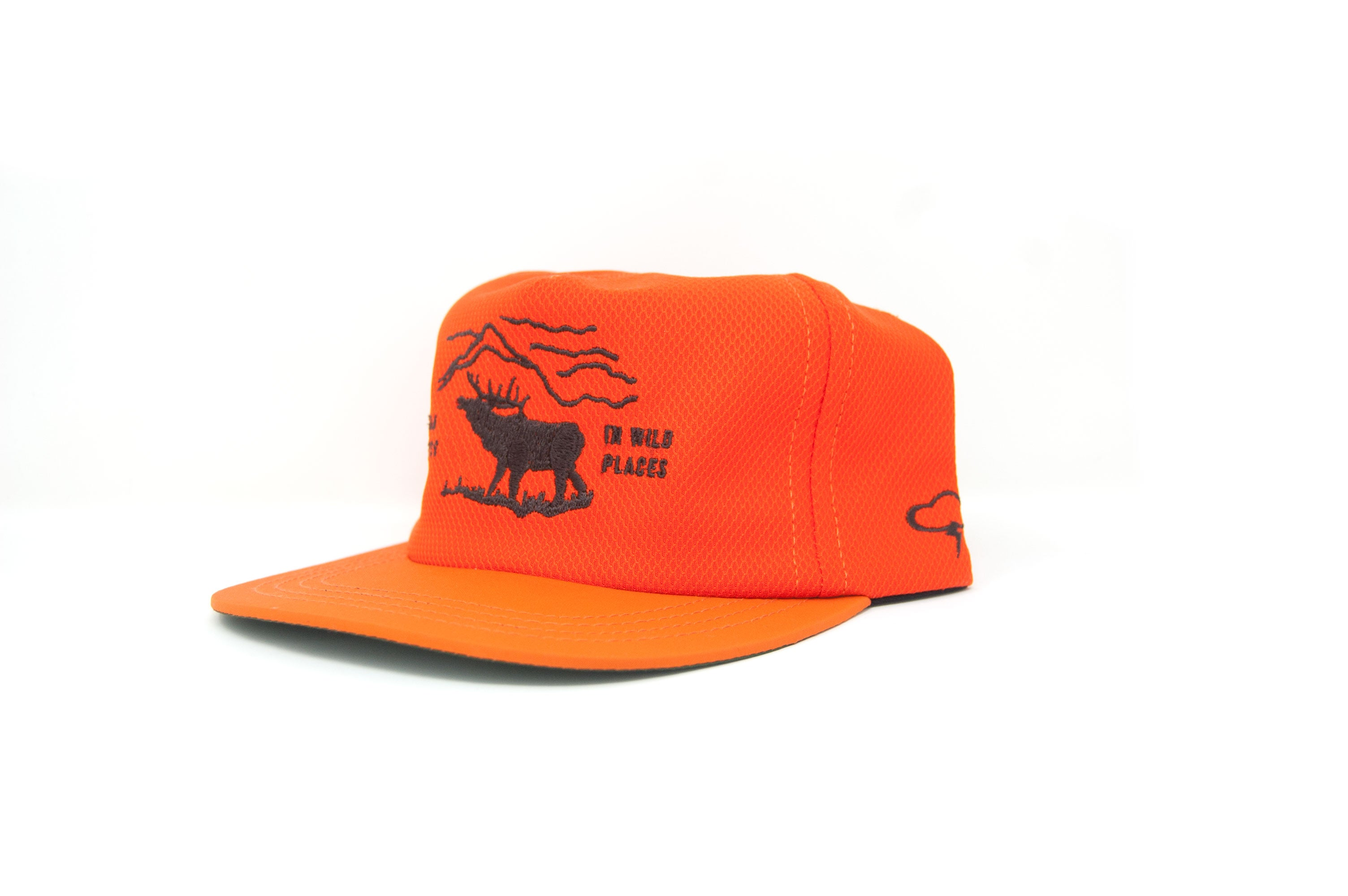 WILD PLACES Strapback - Safety Orange