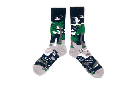 MIDNIGHT ISLAND Socks