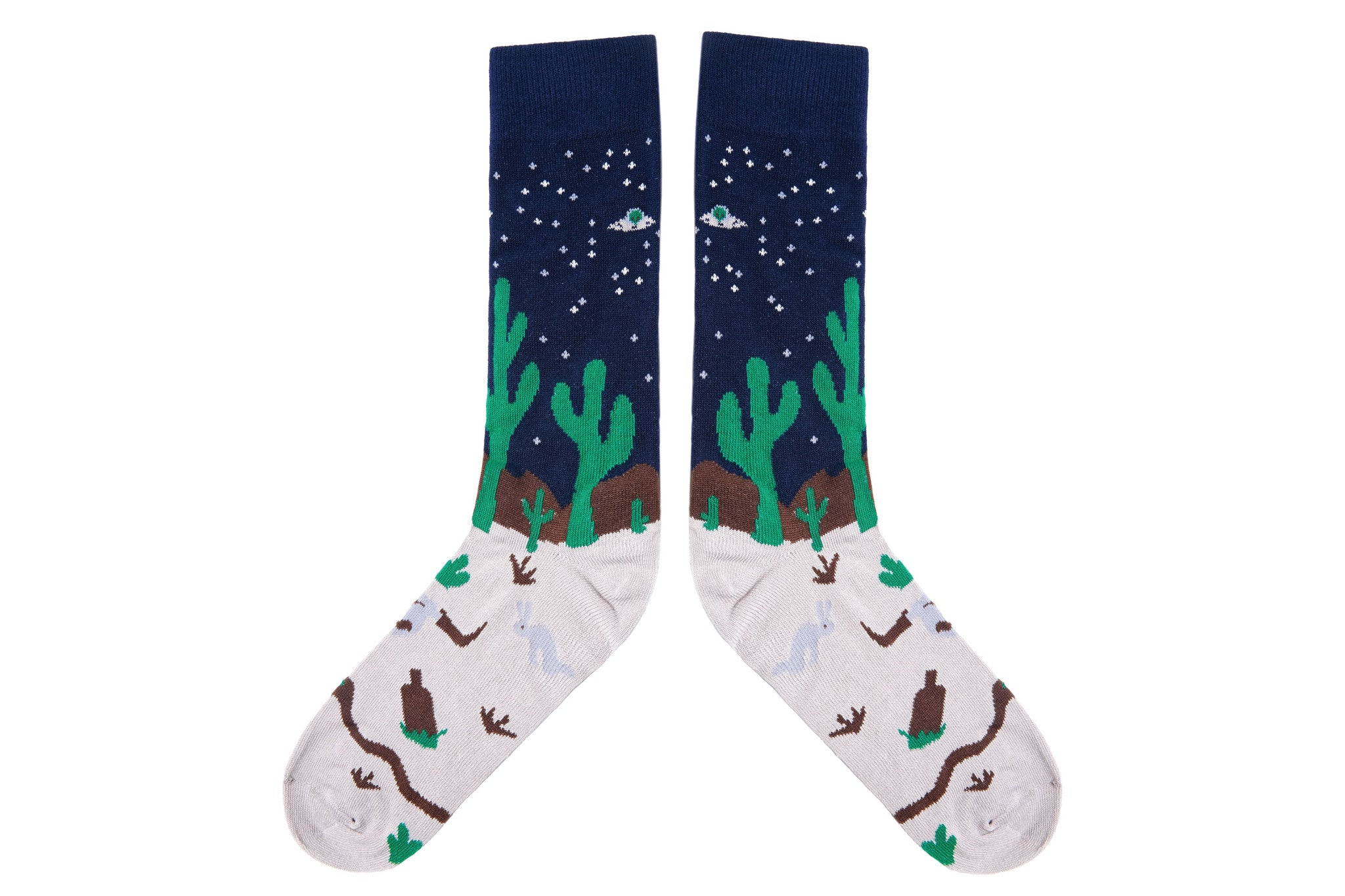 MIDNIGHT DESERT Socks