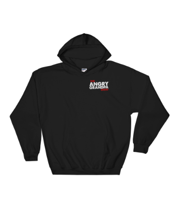 Official Angry Grandpa - Hooded Sweatshirt