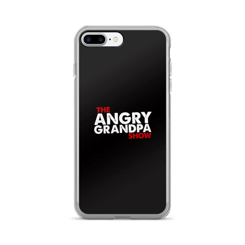 The Angry Grandpa Show - iPhone 7/7 Plus Case (Black)
