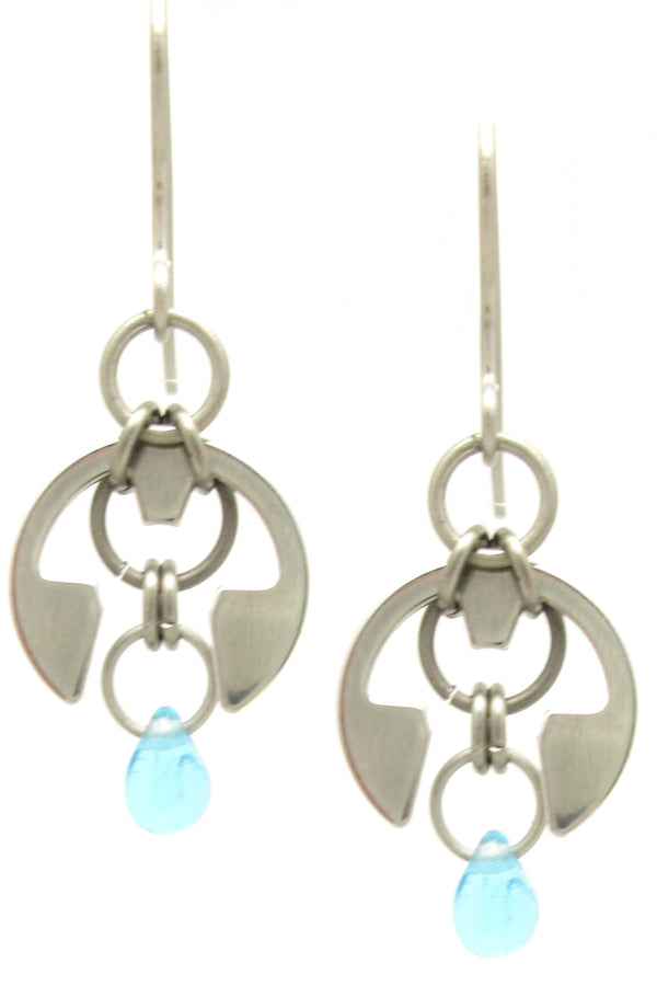 Garden Earrings (Small) (Industrial Glass Collection)