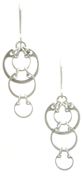 Cascading Circles Earrings (Small)