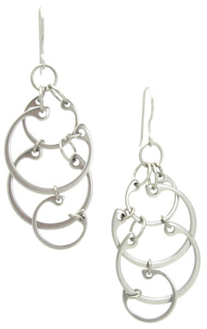 Clustered Circles Earrings (Large)