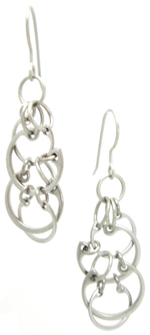 Clustered Circles Earrings (Medium)