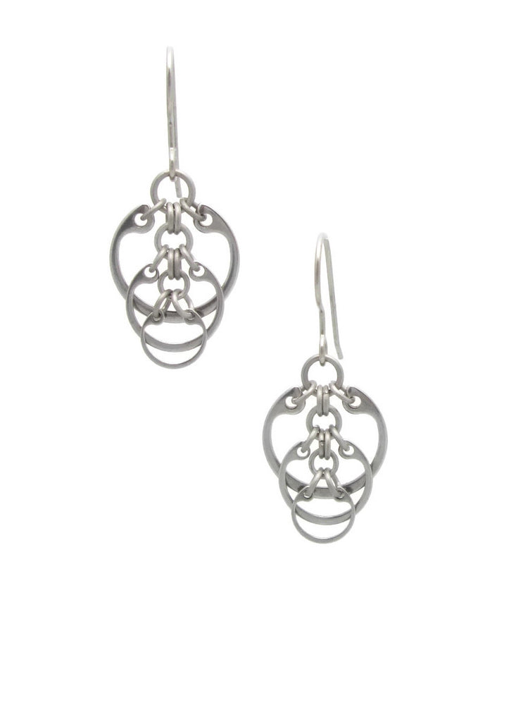 Descending Circles Earrings (Small)