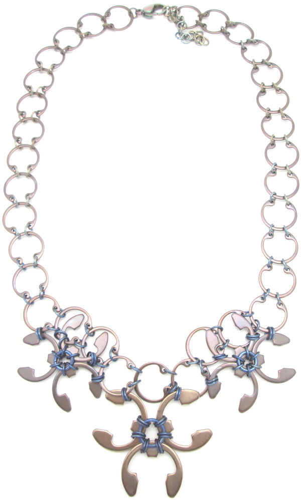 Garland Necklace (Heat Patina Collection)