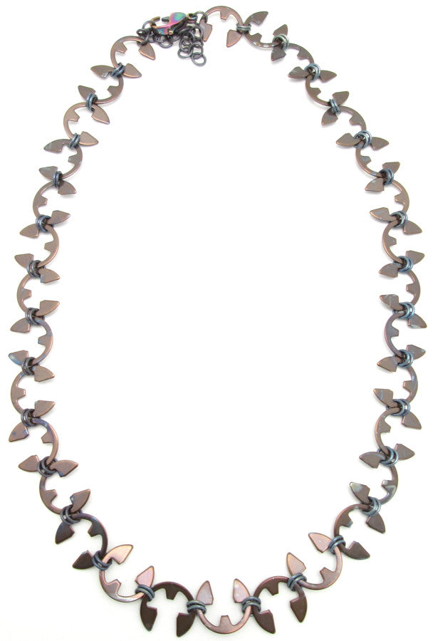 Vine Necklace (Heat Patina Collection)
