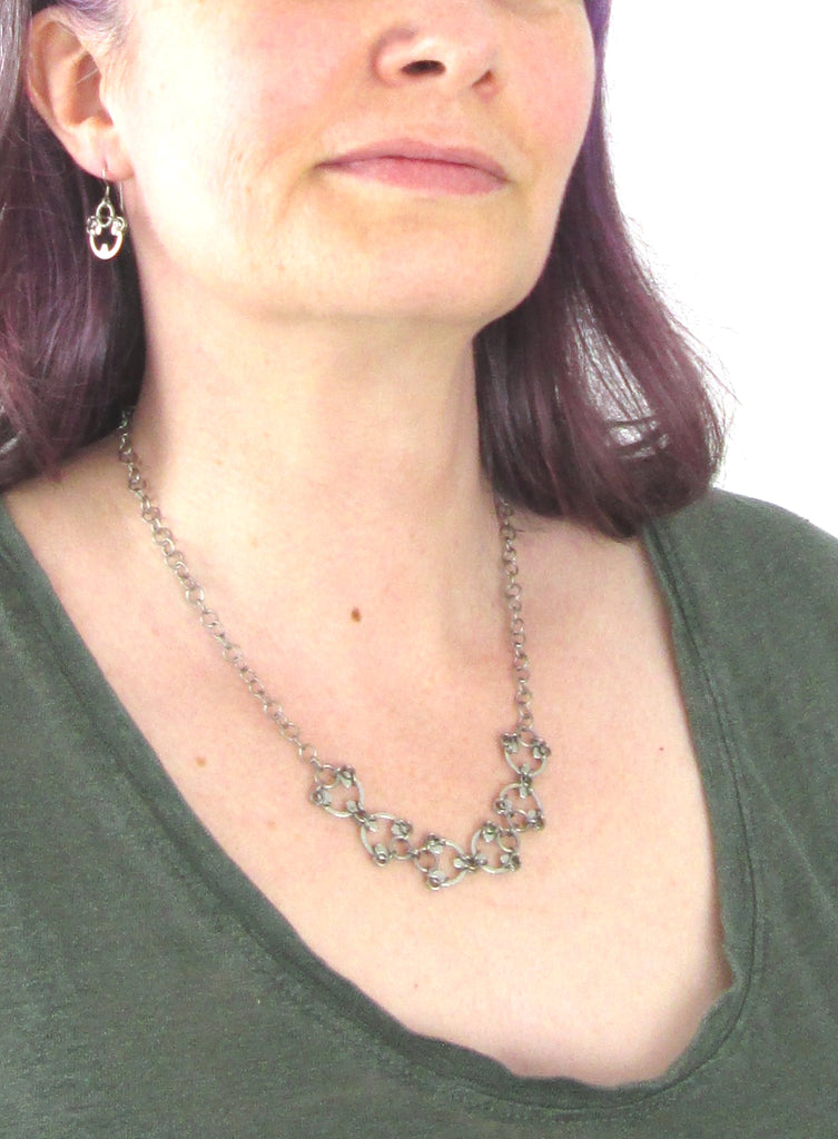 Delicate Scarab Necklace