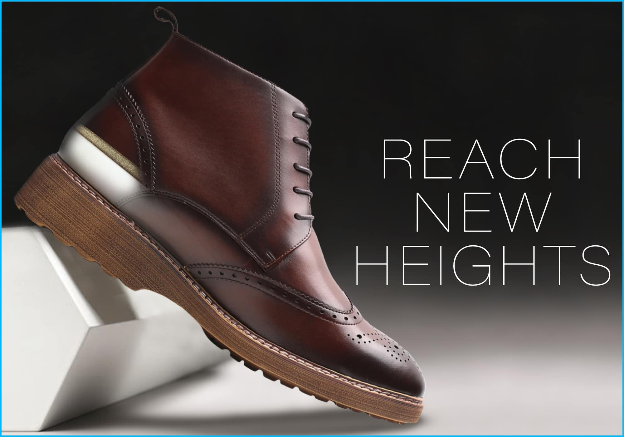 Mr. Christodoulou 7cm | 2.8 inches Taller Height-Increasing Boots