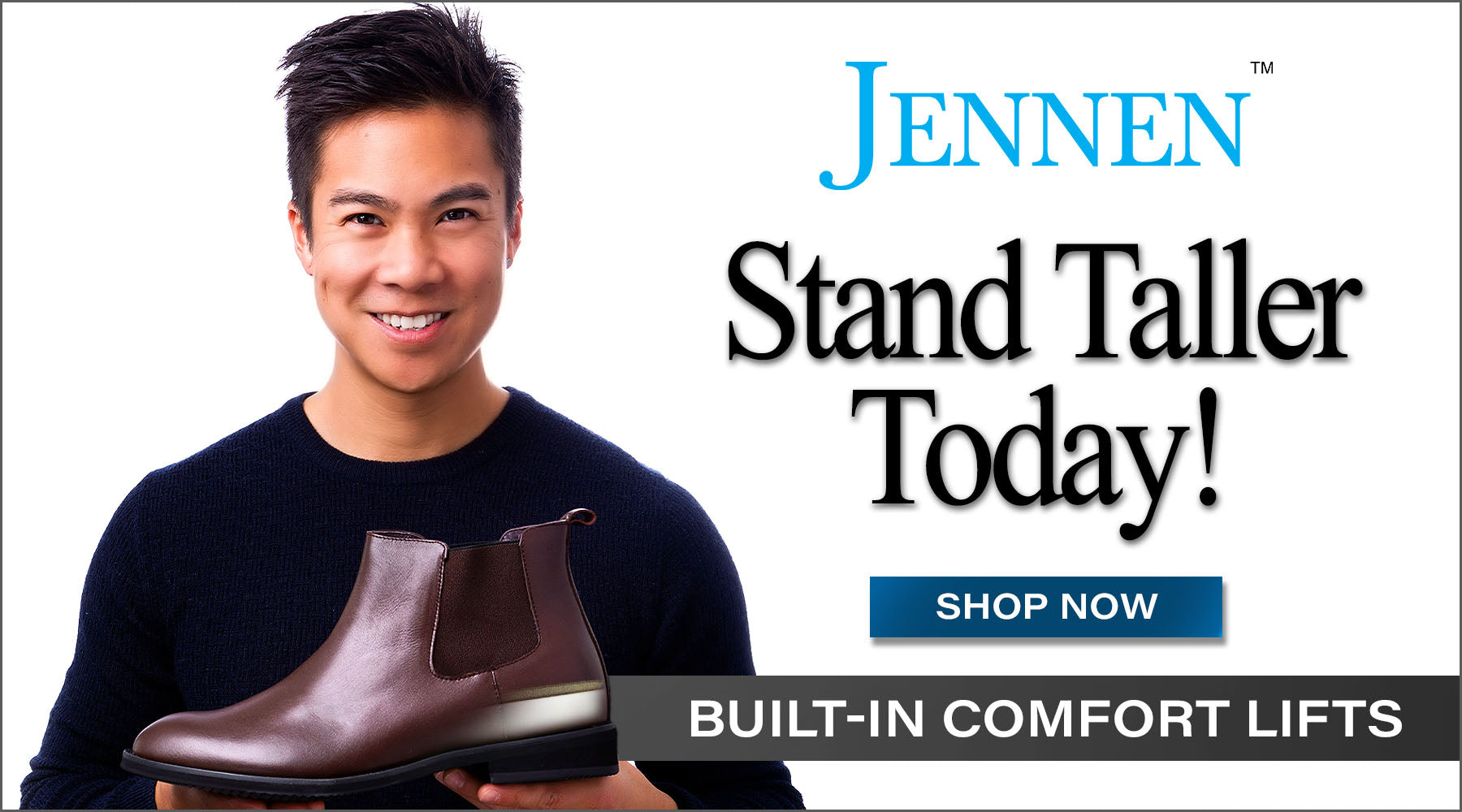 JENNEN shoes | Stand Taller Instantly!
