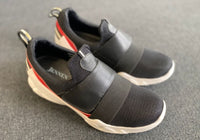 Prototype Quebec | Black Slip-On Sneakers 6cm Taller in Size 40 but feels like 39