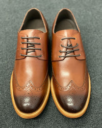 Mr. Watson Dark Brown 6cm Taller in Size 41