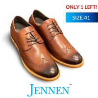 Mr Watson Dark Brown 6cm Taller in size 41 JENNEN Shoes