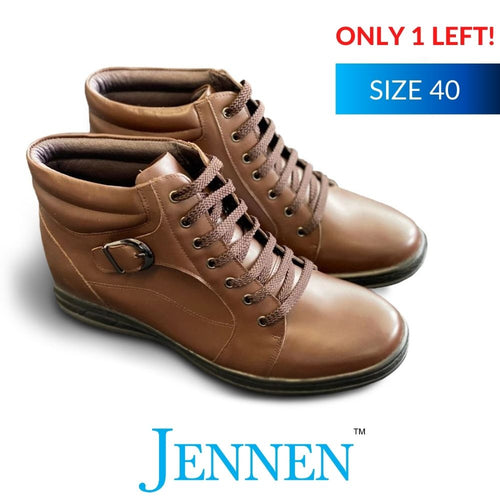 Mr Holst Brown 6cm Taller in Size 40 JENNEN Shoes