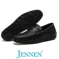 Mr. Adendorff Black 5cm | 2 Inches Taller Designer Elevator Shoes