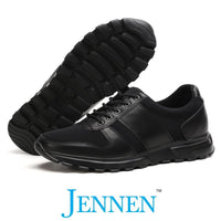 Mr. Brearley Black 7cm | 2.8 inches Taller Australian Elevator Shoes