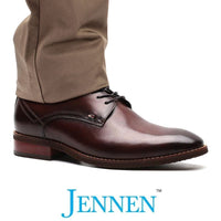 Mr. Britten Brown 5cm | 2 inches Taller Shoes with Hidden Lifts