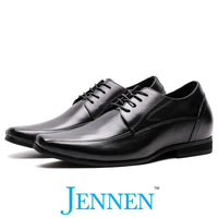 Mr. Bruch Black 7.5cm | 3 inches Taller Height Increasing Shoes