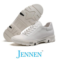 Mr. Cleope White 6cm | 2.4 inches Taller JENNEN Shoes