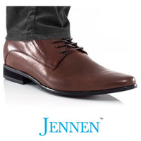 Mr. Giuliano 7cm_2.8 inches Taller Brown Formal Shoes
