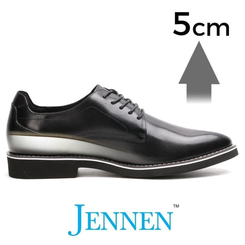 Mr. Grainger 5cm | 2 inches Taller Smart Casual Dress Up Shoes Men