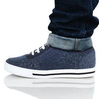 Mr. Lucas Blue 6cm  2.4 inches Melbourne Designer Casual Shoes