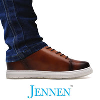 Mr. Menuhin Brown 5cm | 2 inches Taller Shoes for Men