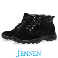 Mr. Nepal Black 8cm | 3.2 inches Taller Elevator Boots