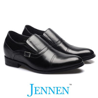 Mr. Nielsen 7cm 2.8 inches Taller Slip-On Height Increasing Shoes for Men