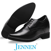 Mr. Rachmaninoff Black 10cm | 4 inches Taller Formal Shoes For Men