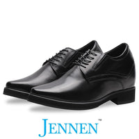 Mr. Rachmaninoff Black 10cm | 4 inches Taller JENNEN shoes