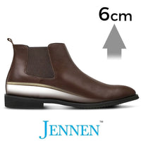 Mr. Tahnee Brown 6cm 2.4 inches Taller Melbourne Designer Boots