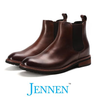 Mr. Tognetti Brown 7cm | 2.8 inches Taller Classic Elevator Boots