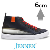 Mr. Winther 6cm 2.4 inches Men's High Top Elevator Sneakers
