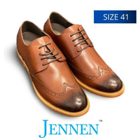 Mr Watson Dark Brown 6cm Taller in size 41