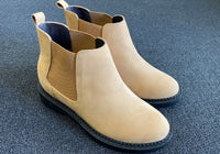 Ms. Leotie 6cm 2.4 inches Brown Ladies Chelsea Boots Size 38