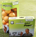 AlmostGOLF Ball - 25 Pack (loose Pack)