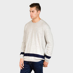 TEDDY ROLLED EDGE CREW NECK - MENS