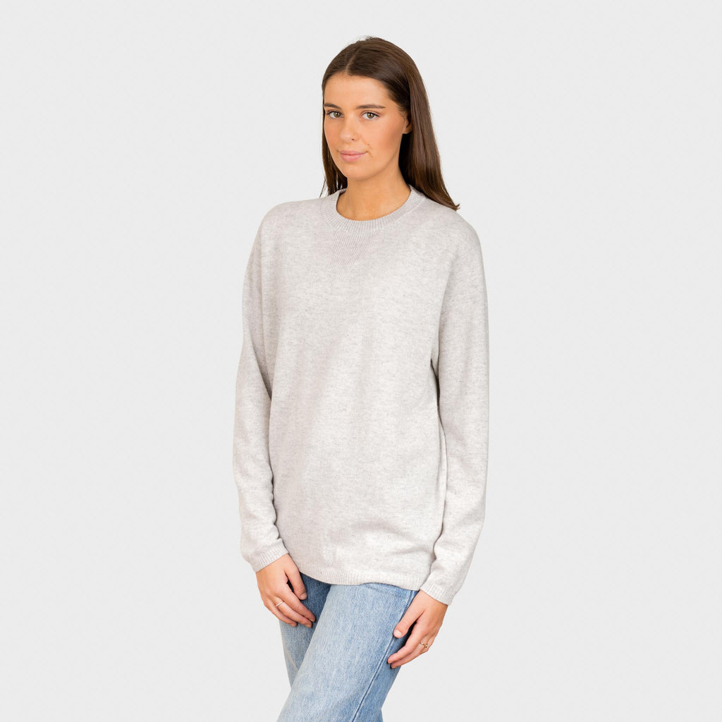 SATURDAY PURE CASHMERE ROUND NECK
