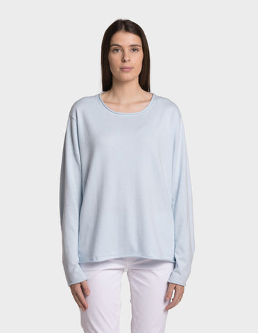 Mersey Round Neck - Cotton Cashmere
