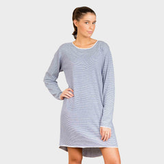 MIMI DRESS - MICRO STRIPE