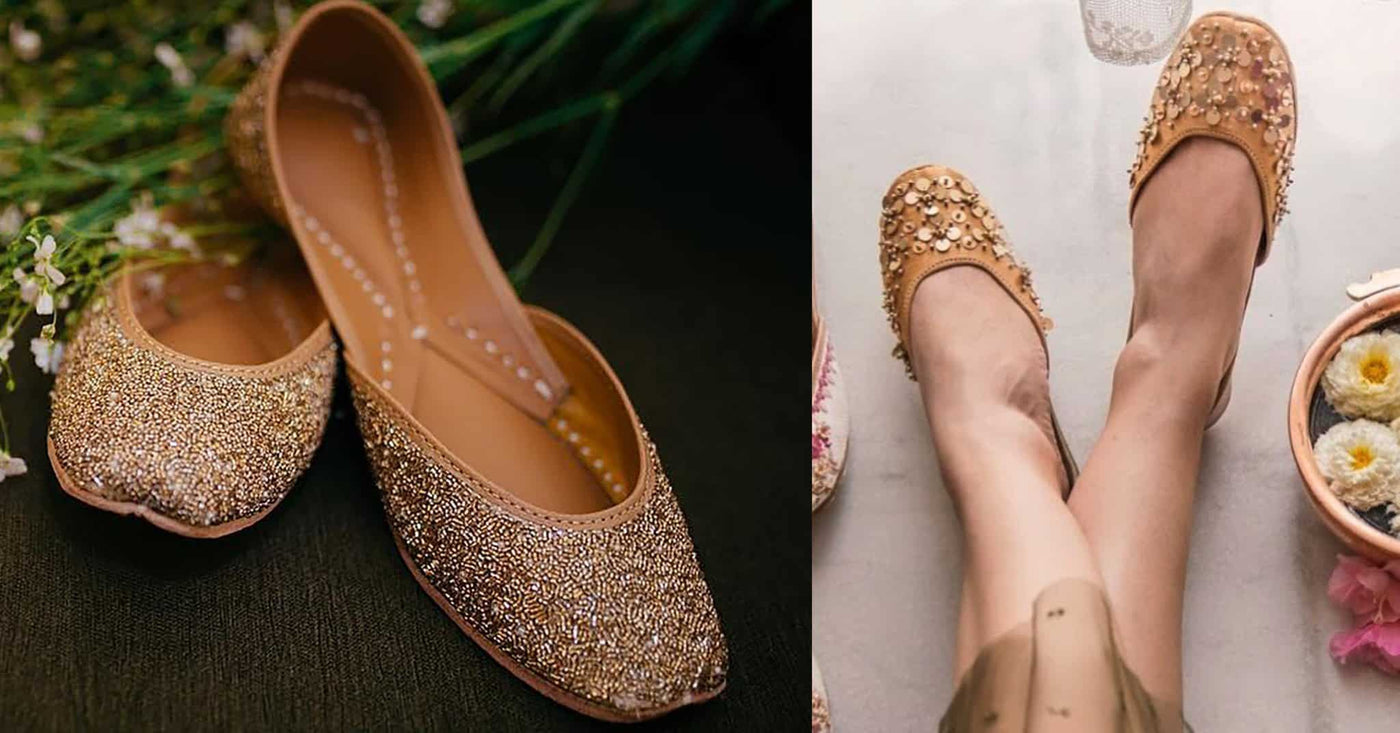 embroidered flat shoes