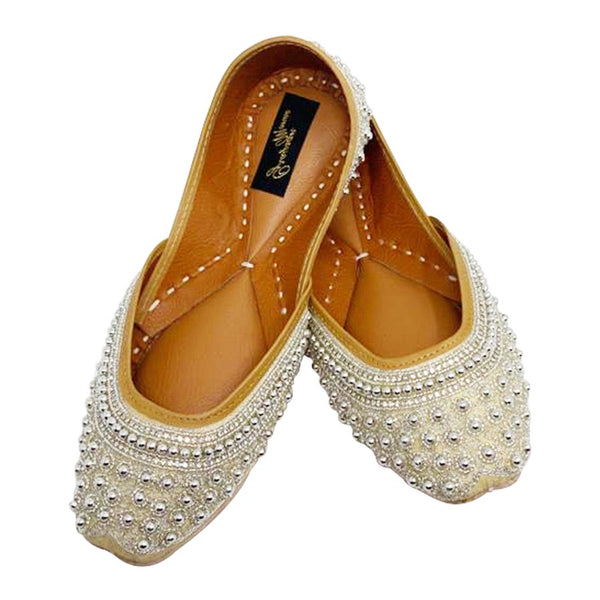 Silver Beads shoes