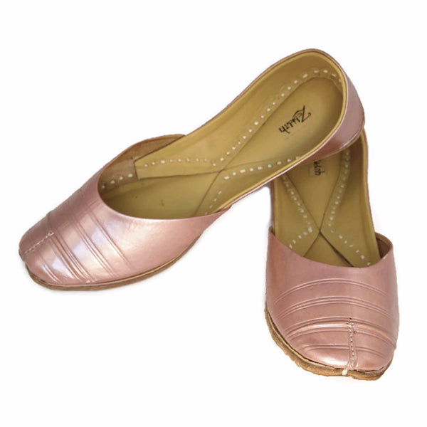 Zebidah-rose-gold-comfortable-flats