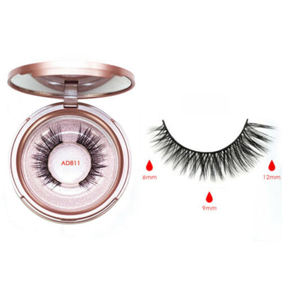 Magnetic Eyelash Kit with Magnetic Eyeliner & Applicator