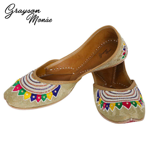 Handmade Shoes - Beads