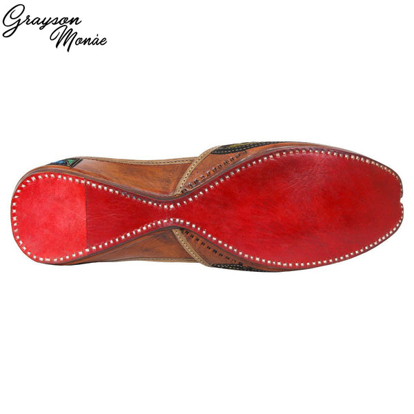 Leather Handmade Shoes - Leather Concave