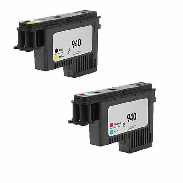 Bundle set HP 4900a 4901a Printhead Print head plus 4 packs 940xl ink cartridge