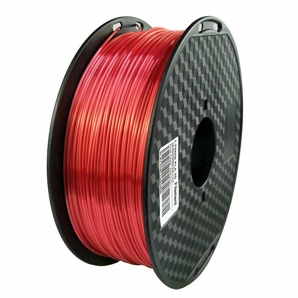 PLA Silk red Filament 1.75mm 3D Printer Filament 2.2 LBS Spool 3D Printing